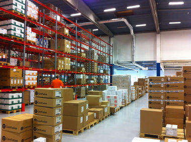 Видеонаблюдение на складах